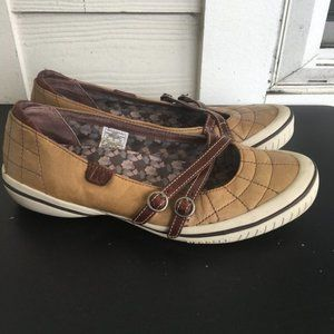 Merrell Zodiac Golden Taupe Casual Leather Shoes